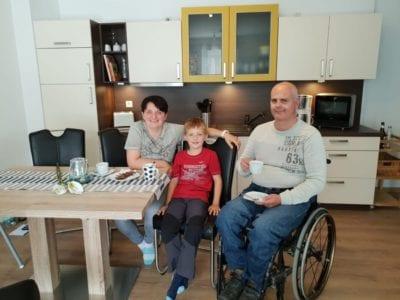 Rollstuhlgerechte Ferienwohnung