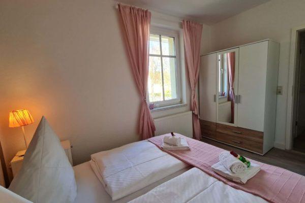 Ferienwohnung Kusche Rerik Schlafzimmer 1