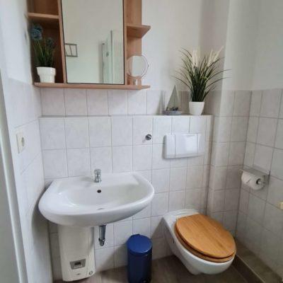 Ferienwohnung Lebensfreude Badezimmer