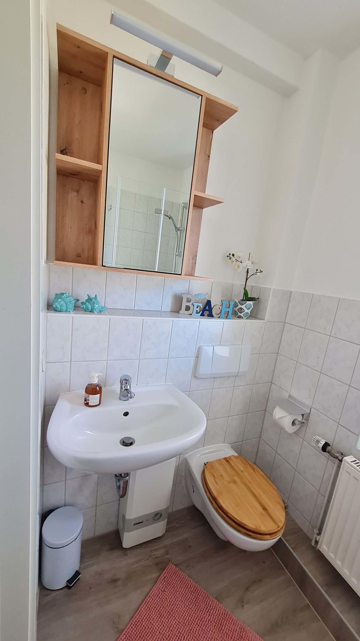 Ferienwohnung Rerik Kuschel Badezimmer 1